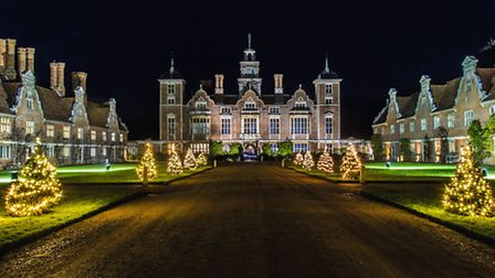 Blickling Hall at Christmas, picture National Trust