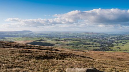 Looking towards Pendle