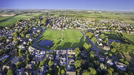 Wrea Green From Above Photo by Sean Donahue