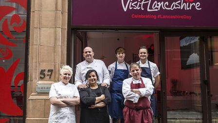 The chefs Lancashire day line-up