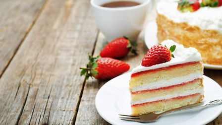 Relax and indulge in a delicious slice of cake (c) Nataliya Arzamosova / Shutterstock