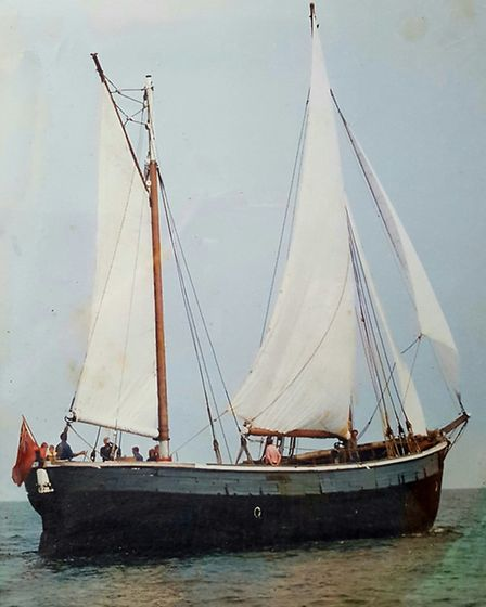 The trading schooner Emily Barratt survived two wars but ended up being chopped into pieces