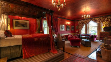 There is romance a plenty in Stratton's Red Room
