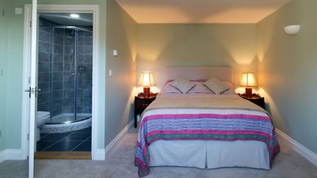 The Swan's boutique bedrooms are housed in a converted barn