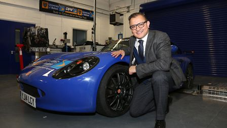Dr Zubair Hanslot, Chief Executive of the National Centre for Motorsport Engineering and Provost of