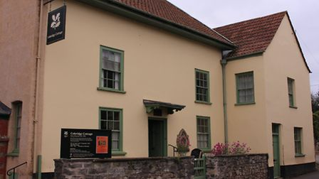 The poet Samuel Taylor Coleridge lived here for three years