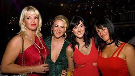 Sue Simmons, Melissa Westhead, Claire and Helen Wright