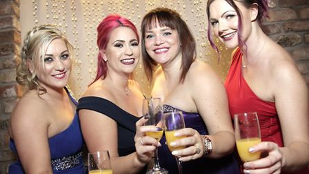 Vicky Wilkinson, Melanie Sinclair, Jo Charalambous and Amy Green
