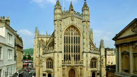 Marvel at the magnificent architecture of Bath Abbey (c) Bath Abbey