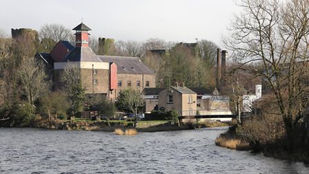 Jennings Brewery and The River Derwent