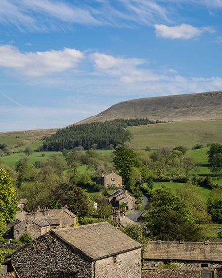 Pendle From Downham