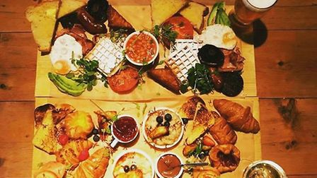 Bottomless brunch by @thebaltic_social