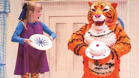 The Tiger Who Came To Tea in Liverpool Photography by Michael Jean-Marain