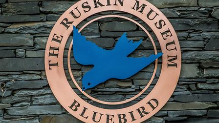Exterior sign on the Ruskin Museum