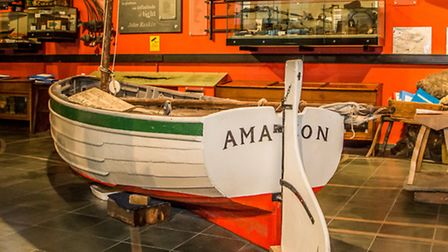 Sailing boat Amazon provided inspiration for Arthur Ransomes childrens classic Swallows & Amazons
