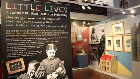 The Little Lives exhibition at Lynn Museum