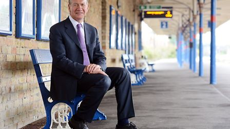 Michael Portillo opens the refurbished King's Lynn Station