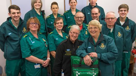 Community First Responders training evening at Lingwood Church who work together with the emergency