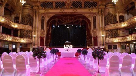 Your wedding could be at the Blackpool Tower © Jason Lock Photography