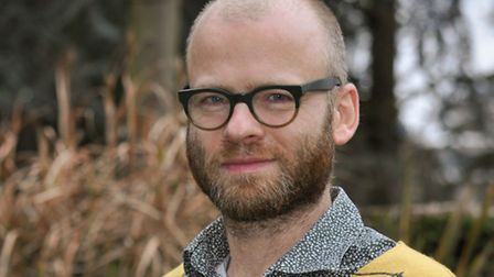 Professor Philip Langeskov, lecturer in creative writing at the University of East Anglia. Picture b