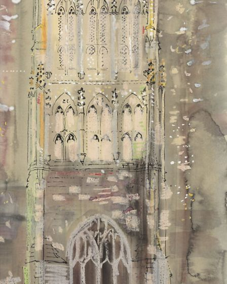 John Piper Leigh Upon mendip Church