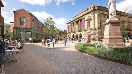 The Gladstones View Townscape Heritage Project, one of the next developments set to take place in Bl
