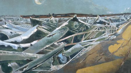 Totes Meer (Dead Sea) by Paul Nash, 1940-41 (courtesy: Tate)