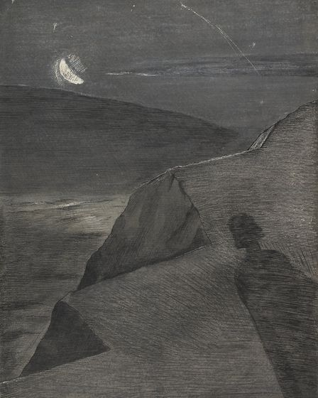 The Cliff to the North by Paul Nash (courtesy of the Fitzwilliam Museum, Cambridge)