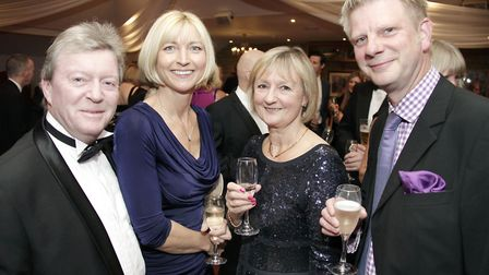 Dave Carling, Carole Jackson, Sue Carling and Tim Clegg