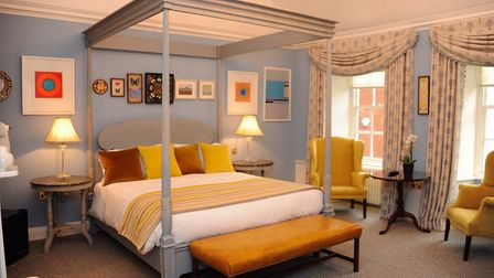 One of the Assembly House's new luxury bedrooms (picture: Denise Bradley)