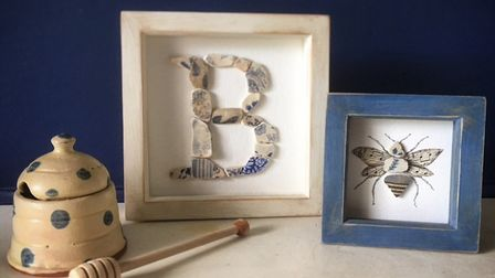 Lynnes work has found favour with beekepers and her finished pieces have a worldwide following