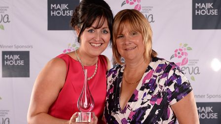 Lisa Jackson, left, is a two-time award winner and will speak at the Cumbria Roadshow