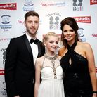 Paul and Hayley Gallagher with their daughter Madison