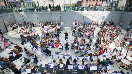 The Norfolk County Youth Orchestra plays at Norwich Forum (photo: Adrian Buck)