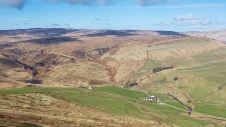 Brennand Valley from above Ouster Rake