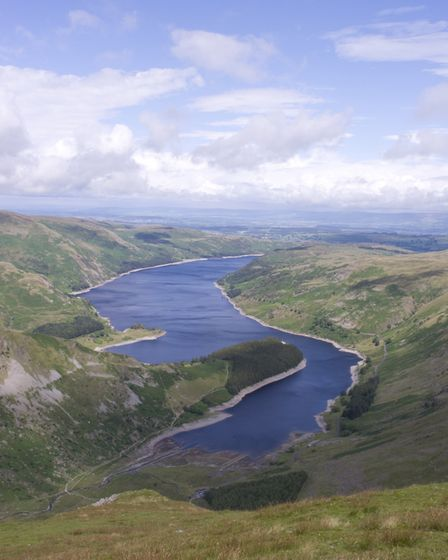 Haweswater was flooded, destroying the village of Mardale Green