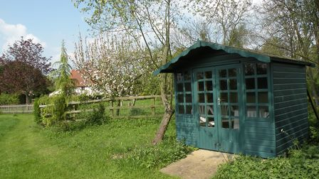 A summerhouse to sit in and be still