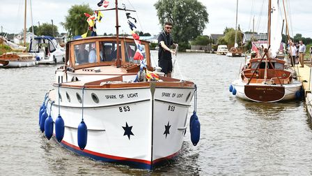 Spark of Light making river trips (picture: James Bass)