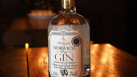 The award winning Norwich Dry Gin. Picture: ANTONY KELLY