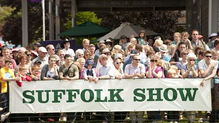 Crowds at the Suffolk Show.