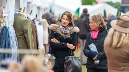 Shopping on Fifth Avenue at the Suffolk Show