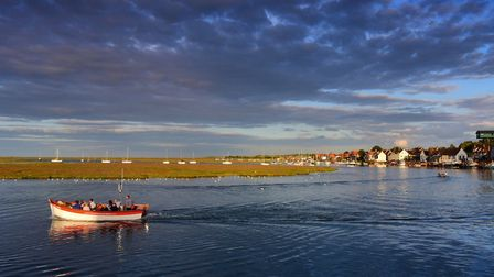 Wells on a balmy summer evening as the sun sets. Picture: Siomon Finlay