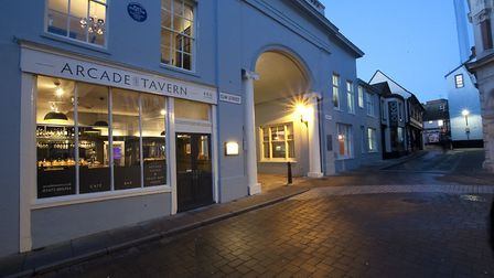 Suffolk Magazine invites you to a special event. Arcade Street tavern