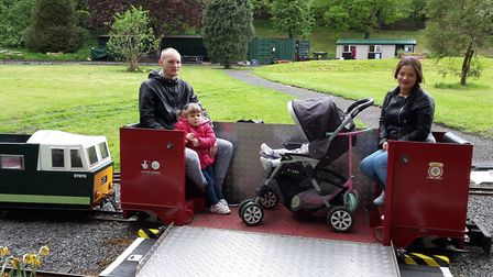 The coach will accept all types of wheelchairs and has additional seats for passengers