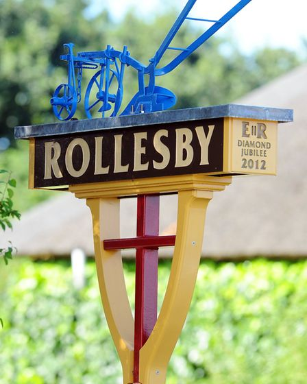 Rollesby Village Sign (photo: James Bass)