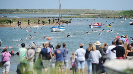 The Norfolk Superhero Challenge at Burnham Overy Staithe (photo: Ian Burt)