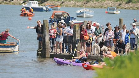 Norfolk Superhero at Burnham Overy Staithe (photo: Ian Burt)