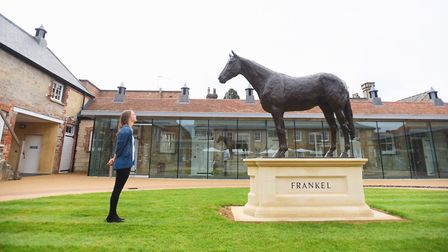 First day of new £15m Newmarket National Heritage Centre - soft launch.