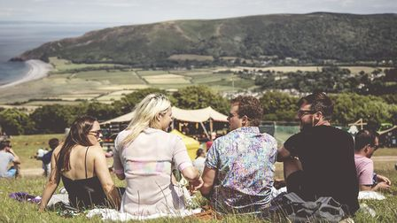 The location makes a magical backdrop to Samphire Festival