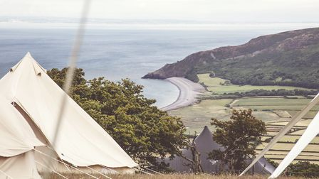 Mesmerising views can be enjoyed from Samphire Festival
